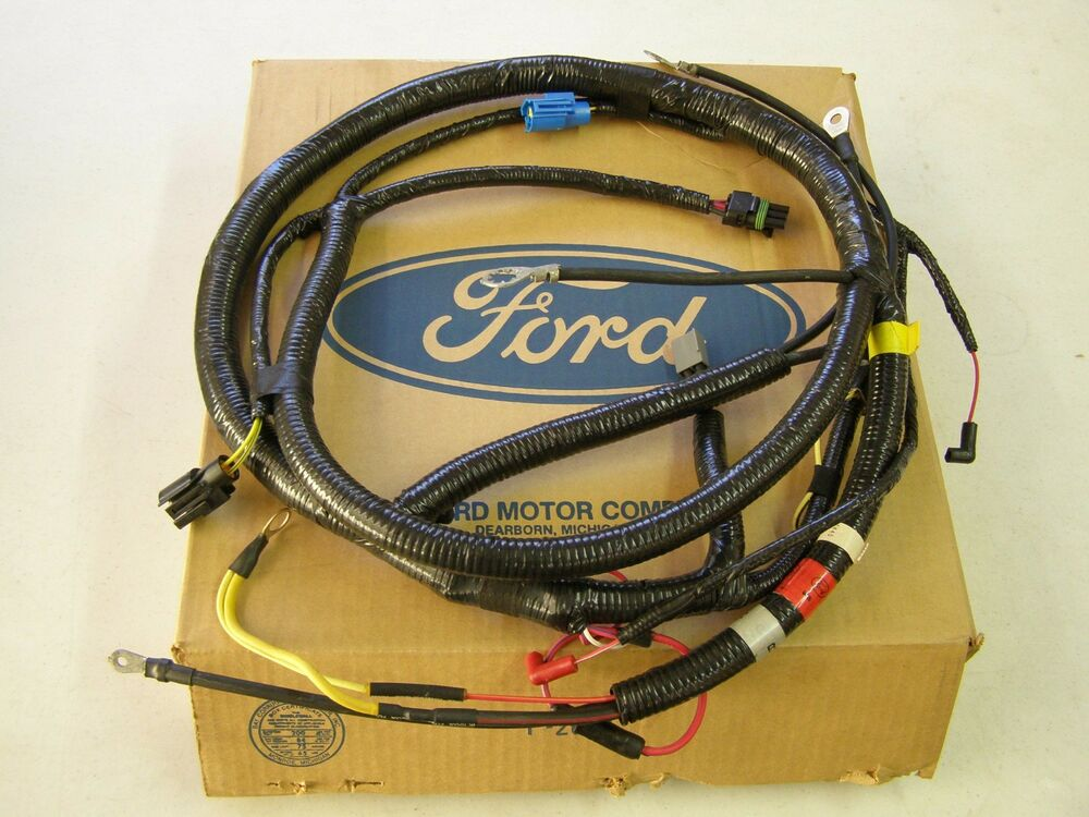 Nos Oem Ford 1992 F 600 700 800 Series Truck Engine Wiring Harness Cummins 5 9l