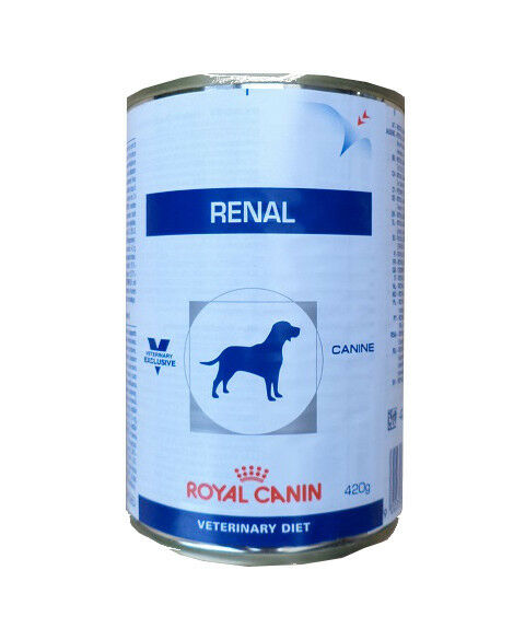 12x410g royal canin renal veterinary diet nassfutter hundefutter dose ebay. Black Bedroom Furniture Sets. Home Design Ideas