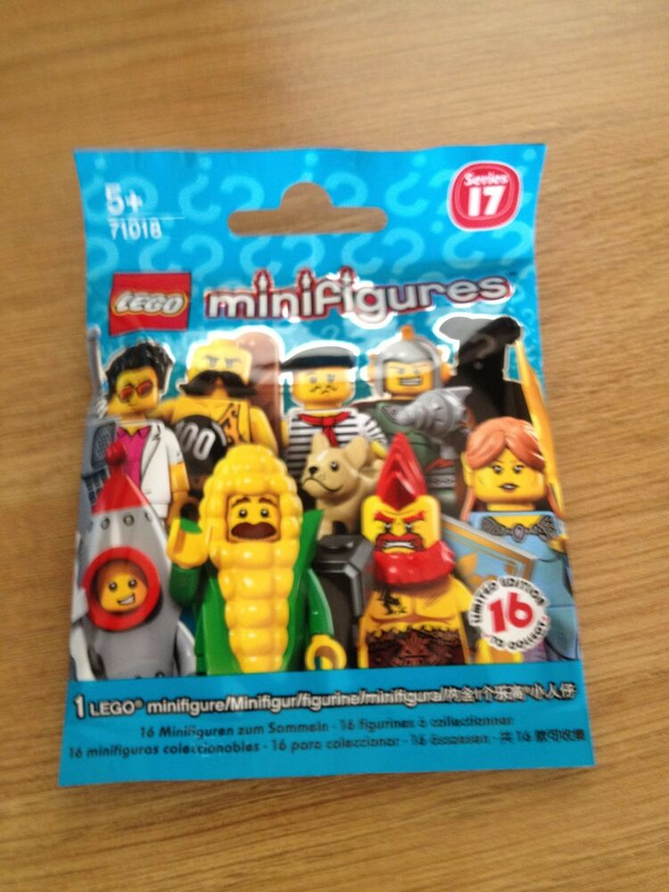 LEGO mini figures SERIES 17 71018 DANCE INSTRUCTOR .SEALED