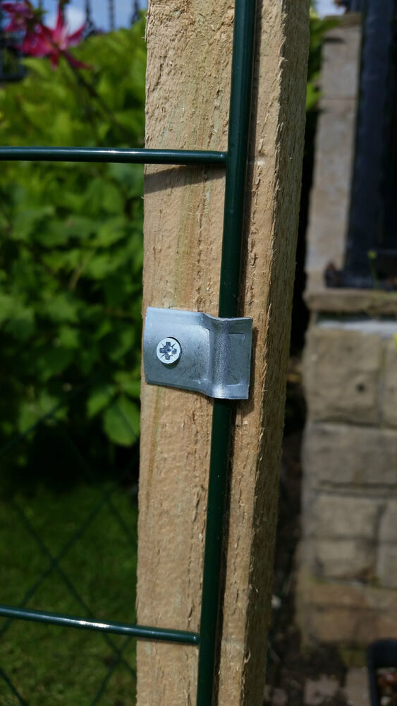 Metal Mesh Panel Securing Clips Fencing Wire Fence