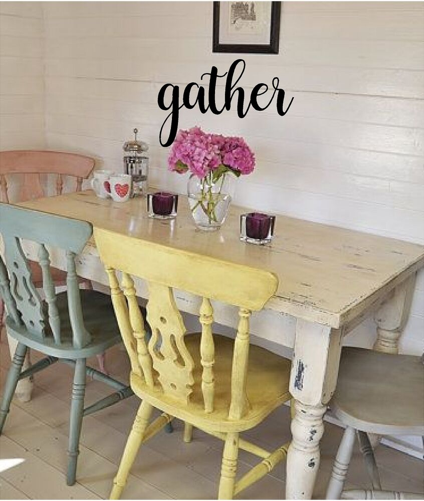 Colorful Gather Wall Decor Component - All About Wallart ...