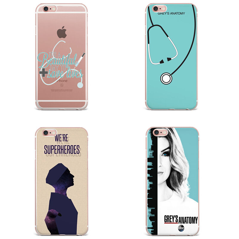Grey\'s Anatomy inspired TPU Silicon iPhone Case for 5/5S 6/6S 7 plus ...