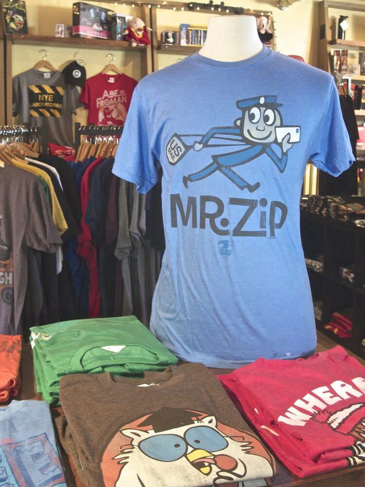 Mr zip us mail usps united states postal service men 39 s t for Usps t shirt shipping