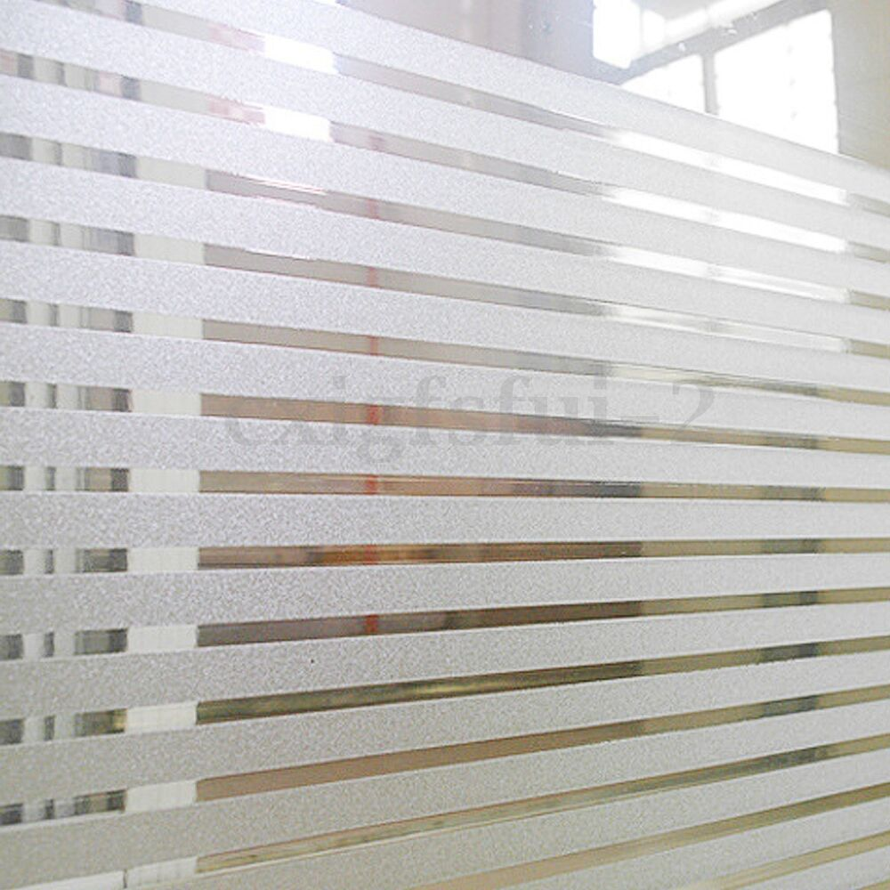 45x200cm Home Office Privacy Frosted Glass Window Film