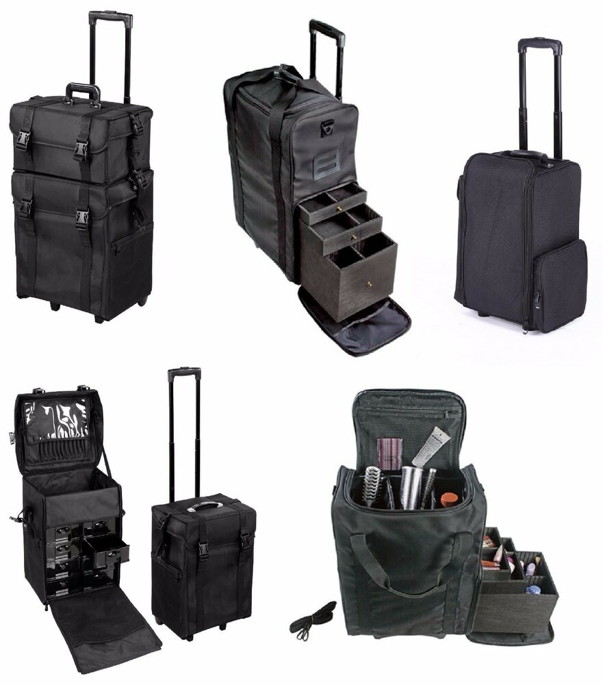 Professional Makeup Artist Carry Case Cosmetic Trolley