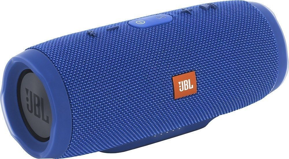 jbl charge 3 waterproof portable bluetooth speaker blue 50036330459 ebay. Black Bedroom Furniture Sets. Home Design Ideas