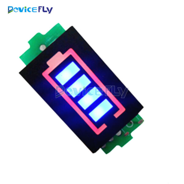2S Lithium Battery Capacity Indicator Module 8.4V Blue Display Power Tester