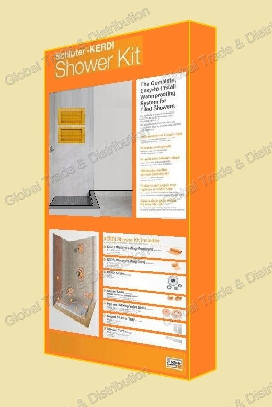 Schluter Systems Kerdi Shower Kit ALL Sizes / Types / Models Are Available