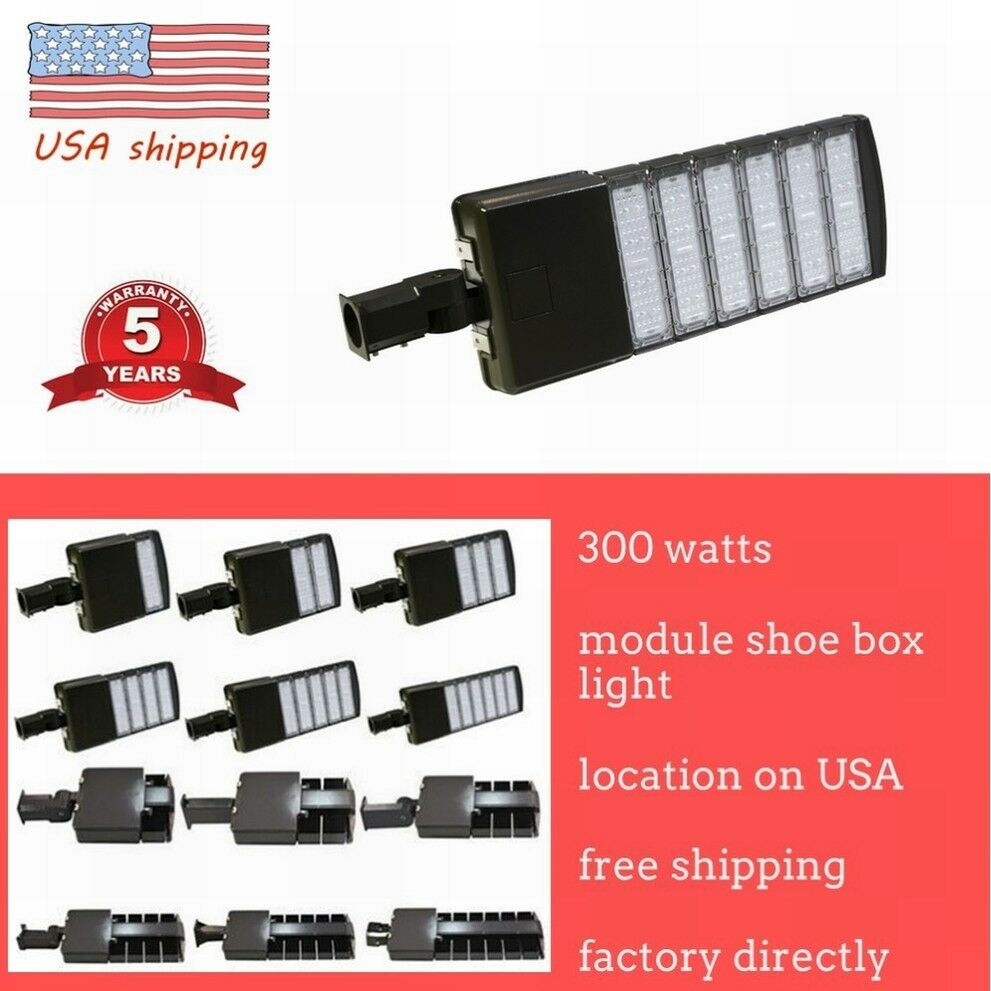 Light Pole Led Fixtures: LED Parking Lot Light 50/150/200/300W Module Street Pole
