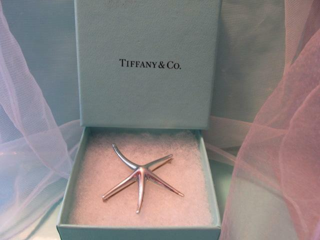 3f5018680 Details about Tiffany & Co. Elsa Peretti Starfish Sterling Silver Brooch  Pin/Necklace