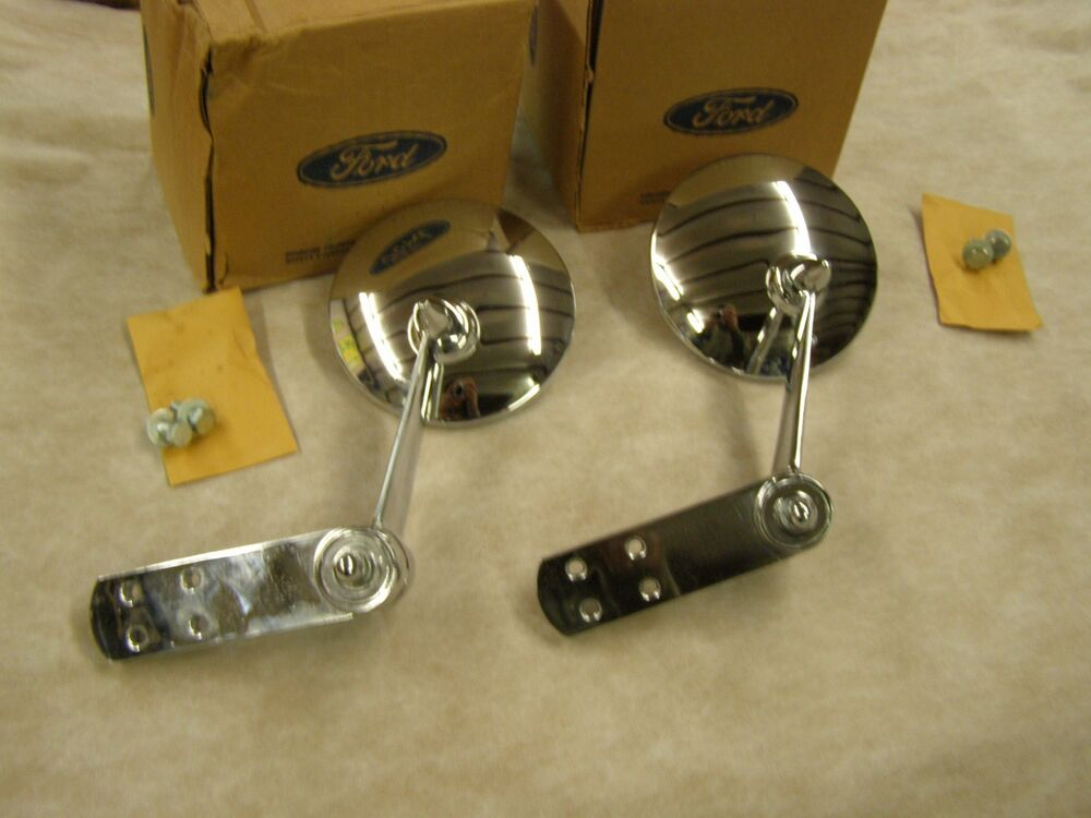 Nos 1956 1966 Ford Pickup Truck F100 Mirrors 1965 1964