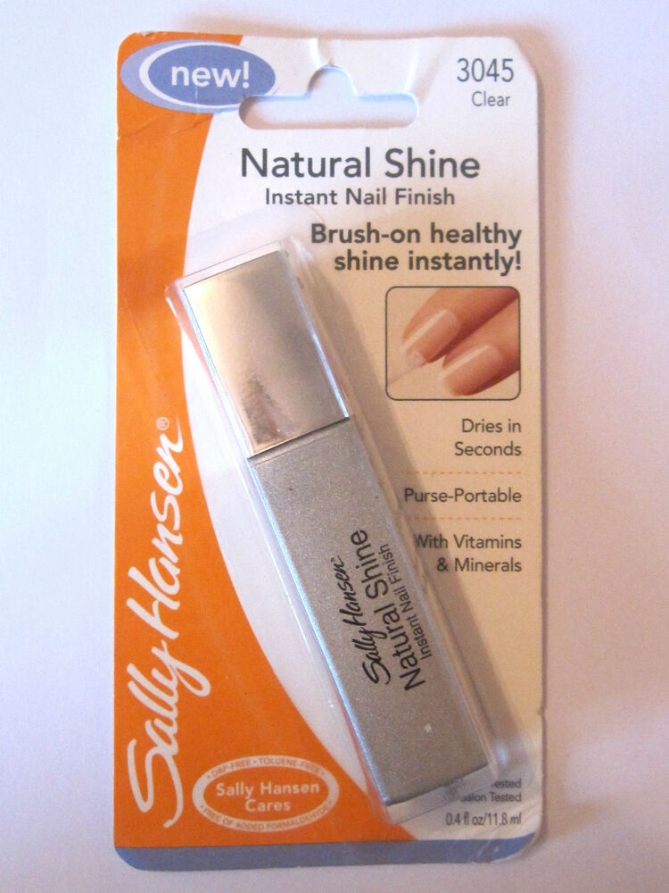 Sally Hansen Natural Shine For Instant Long Lasting Shiny Nail ...