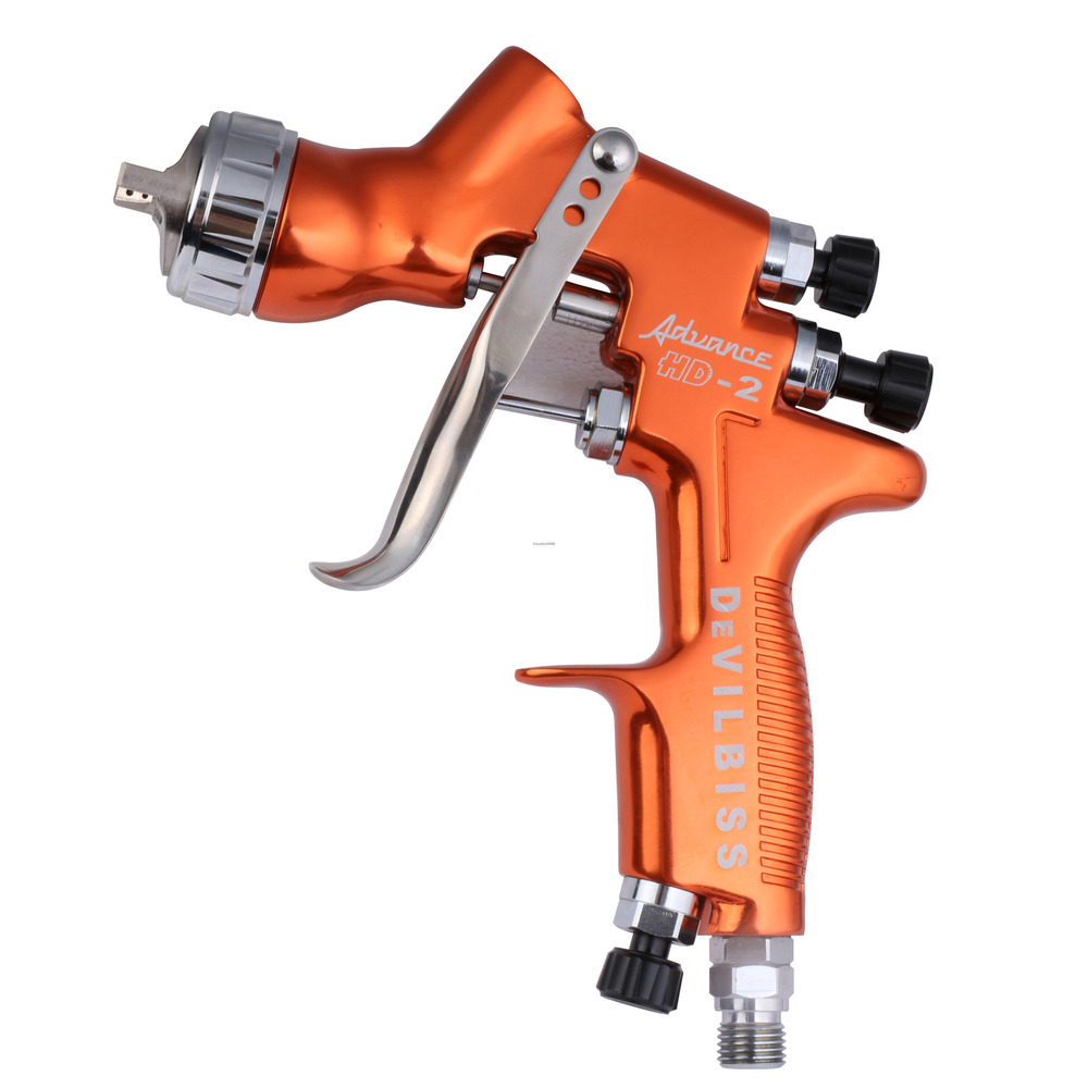 Devilbiss Hd 2 Hvlp Spray Gun Gravity Feed For All Auto