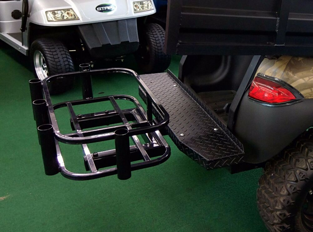 Golf Cart Cooler Amp Rod Holder Hitch Mount Ebay