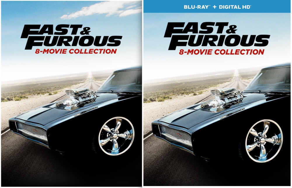 fast and the furious 8 movie collection dvd or blu ray new fate of ebay. Black Bedroom Furniture Sets. Home Design Ideas