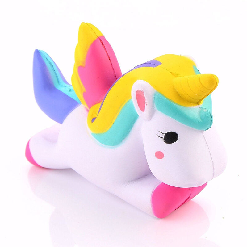 Squishy Unicorn Toy : 12CM Unicorn Squishy Slow Rising Cartoon Doll Squeeze Toy Collectibles Wholesale eBay