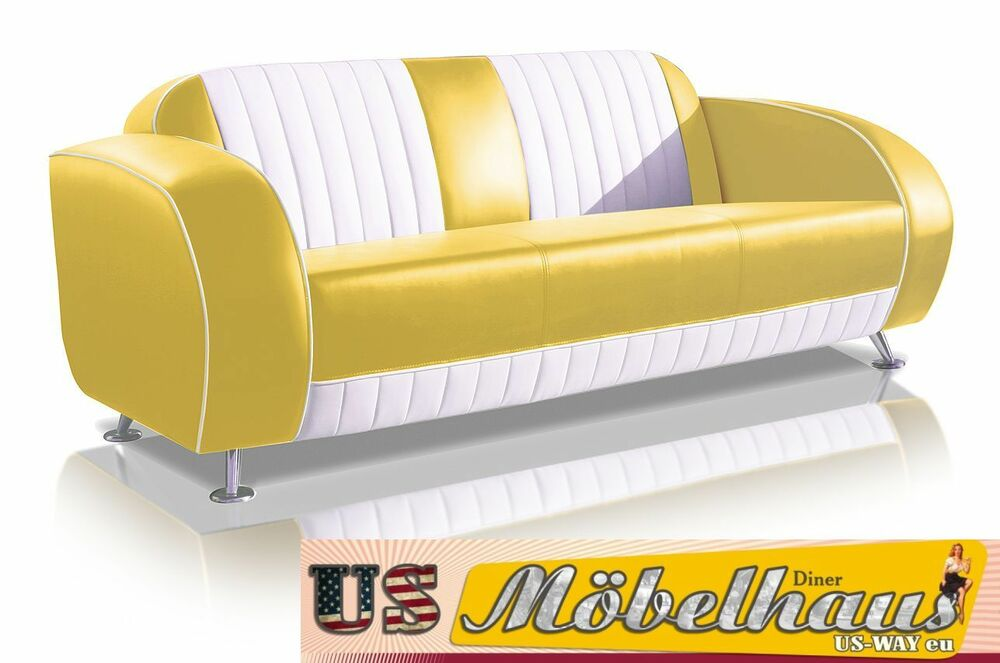 g63y bel air fifties style designer sofa wohnzimmer sessel retro usa 50er jahre ebay. Black Bedroom Furniture Sets. Home Design Ideas