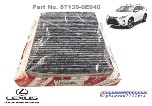 871390E040 OEM GENUINE LEXUS CHARCOAL CARBONIZED Cabin Filter New RX450h Rx350