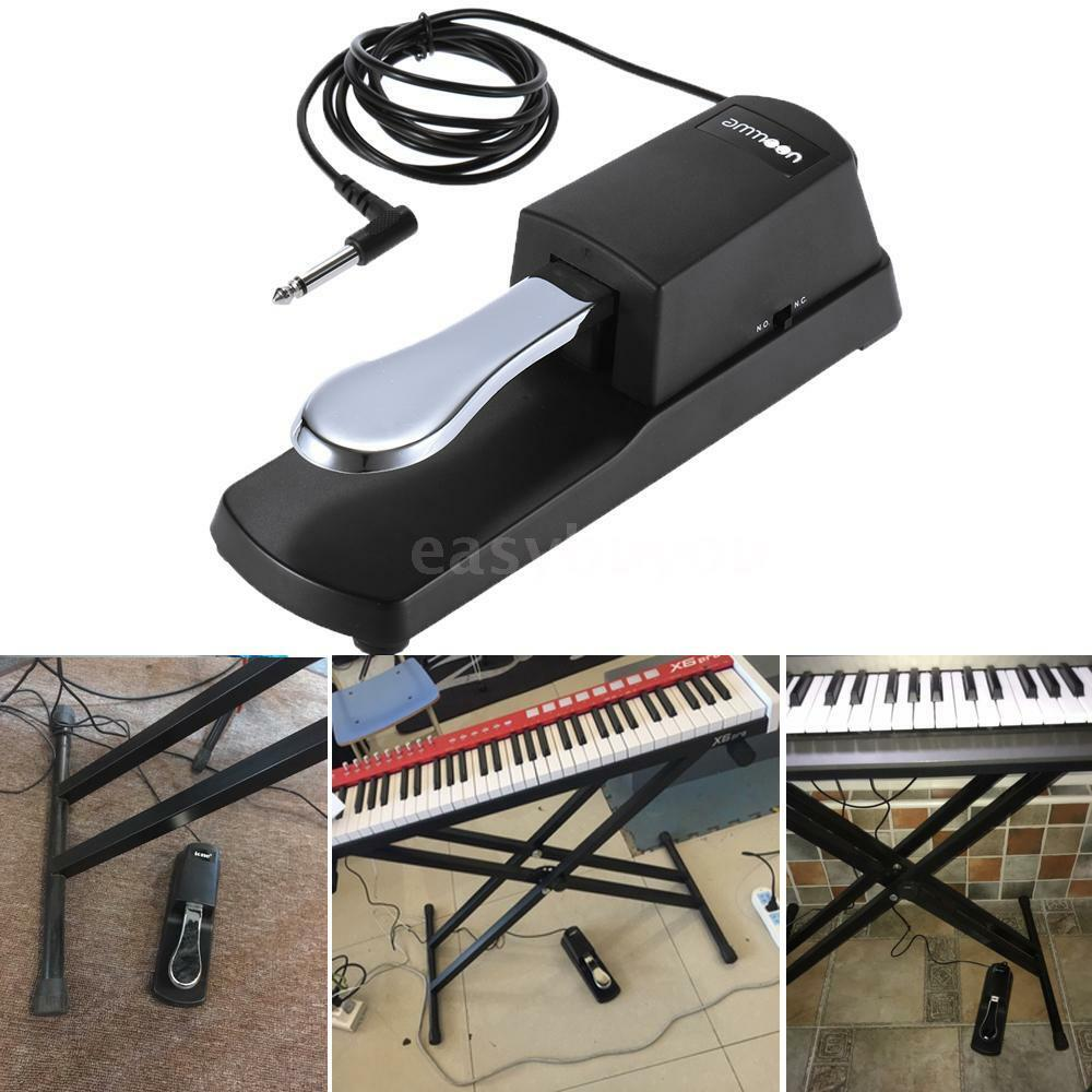 durable piano keyboard sustain pedal damper for roland yamaha casio usa stock 799899360394 ebay. Black Bedroom Furniture Sets. Home Design Ideas