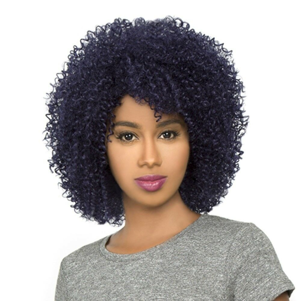 HH-AFRO JERRY - THE WIG BRAZILIAN HUMAN NATURAL HAIR BLEND