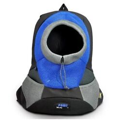 Wacky Paws Sporty Backbag Pet Carrier, Small, Blue New With Tags Ships Quickly