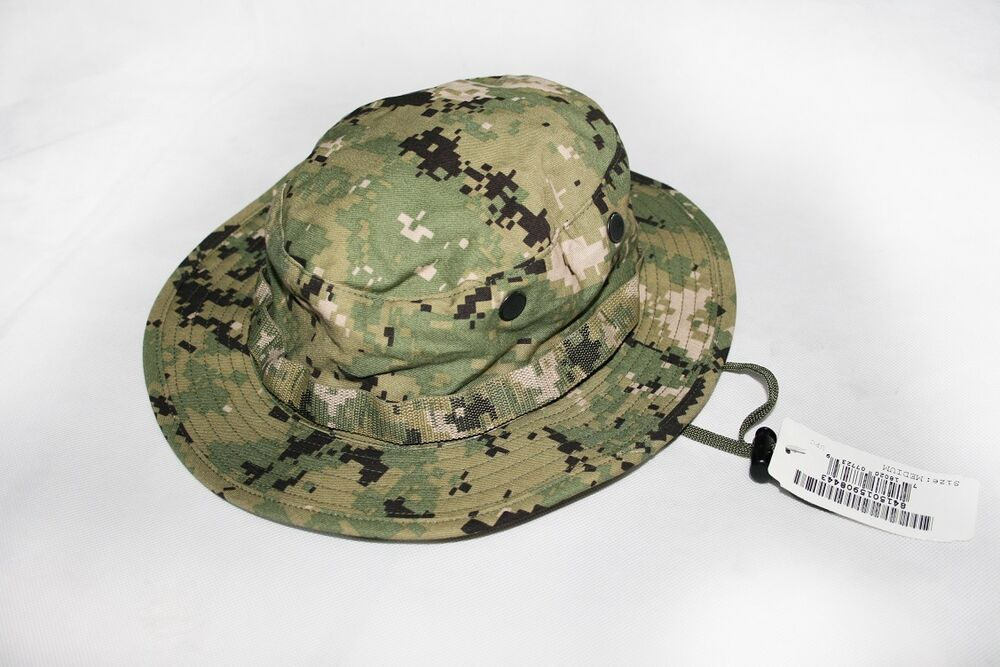 08ad39bacba Details about NEW NWU Type III Navy Seal AOR2 Boonie Hat SUN COVER MANY  SIZES