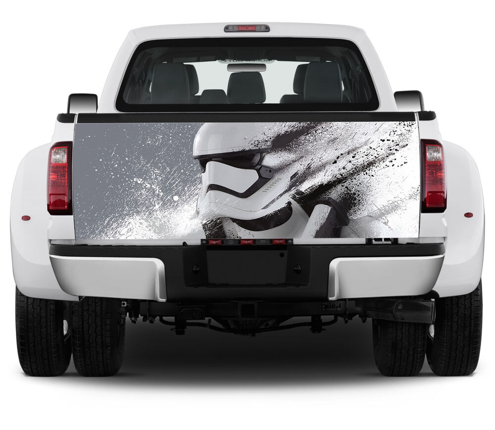 Vinyl Truck Tailgate Wrap Full Color Graphics Decal Storm