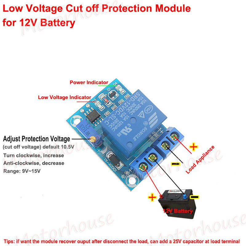 12V 30A Automatic Battery Charging Controller Protection Board Auto ...