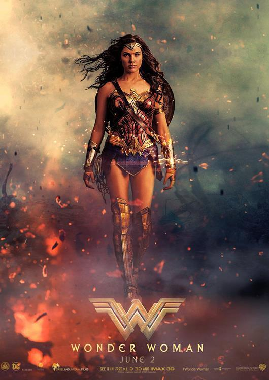 Image result for wonder woman movie poster