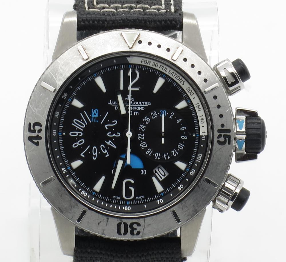 Jaeger lecoultre master compressor diving chronograph watch ref 160 w b p ebay for Chronograph master