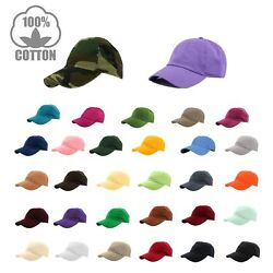 Kyпить Gelante Plain Baseball Cap Polo style Washed Adjustable 100% cotton SHIP in BOX! на еВаy.соm