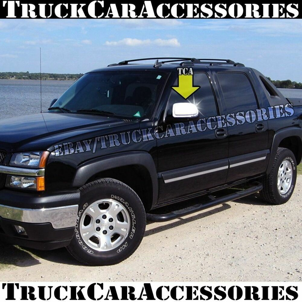 For Chevy Avalanche 2002 2003 2004 2005 2006 Chrome Mirror