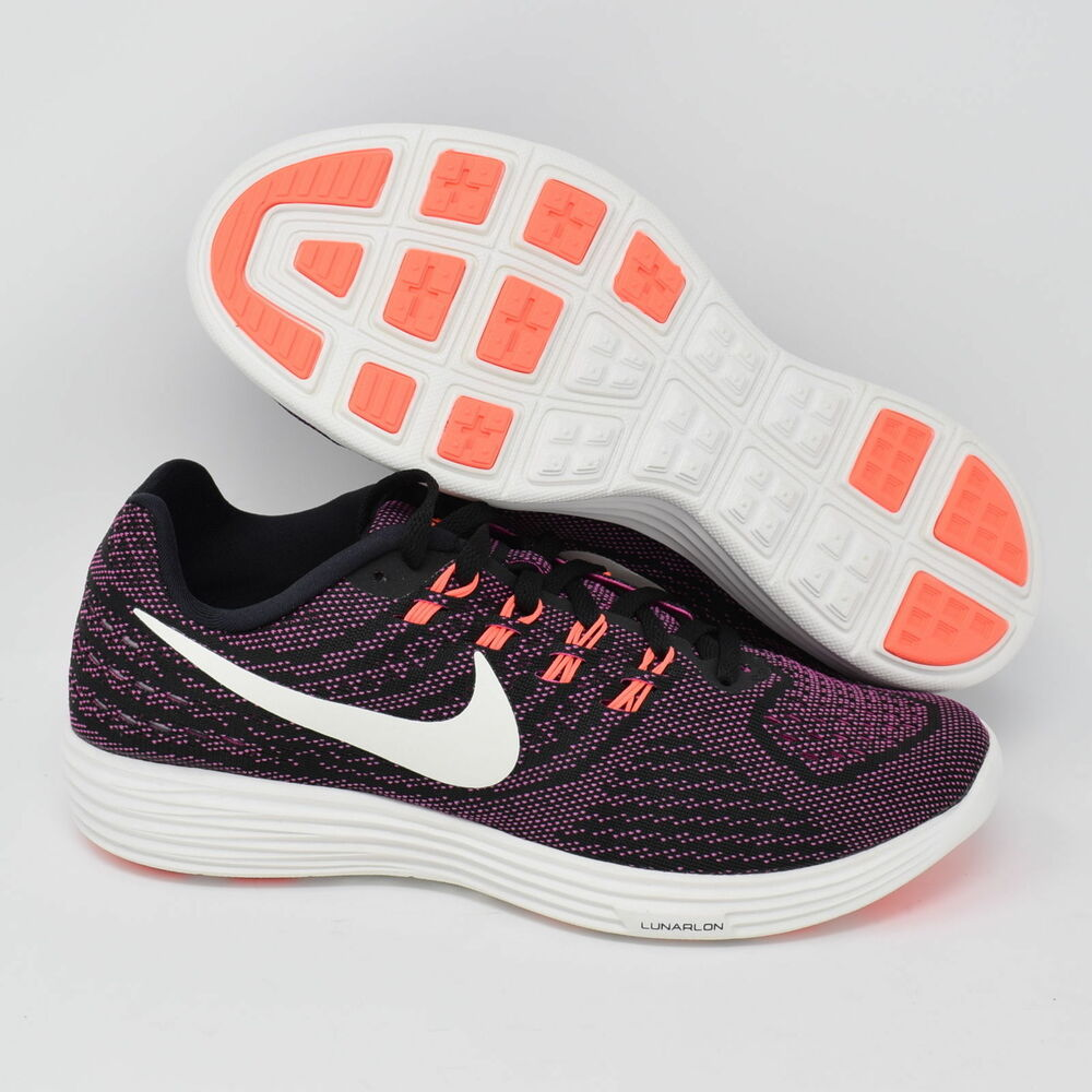 b0ff35d92a7 Details about Nike Lunartempo 2 818098-003 Womens Running Shoes Black White    Pink