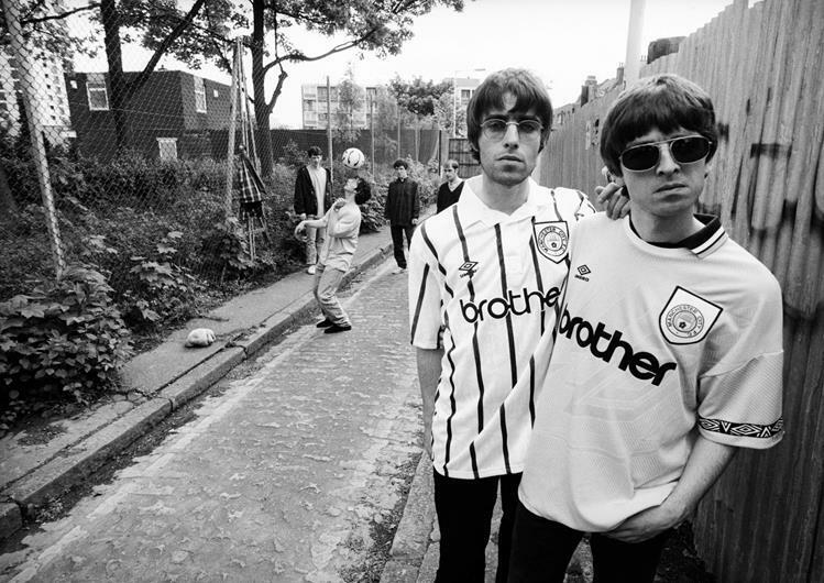 Oasis Poster Manchester City Noel Liam Gallagher Photo Print