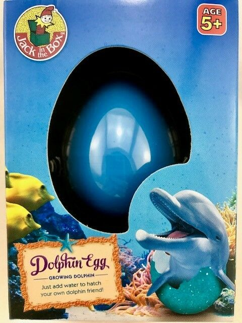 Toys & Hobbies 2019 Fashion Growing Pet Dolphin Egg Water Toy Party Favour Birthday Gift Educational Toys Educational