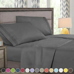 Kyпить Super Deluxe 1800 Count Hotel Quality 4 Piece Deep Pocket Bed Sheet Set на еВаy.соm