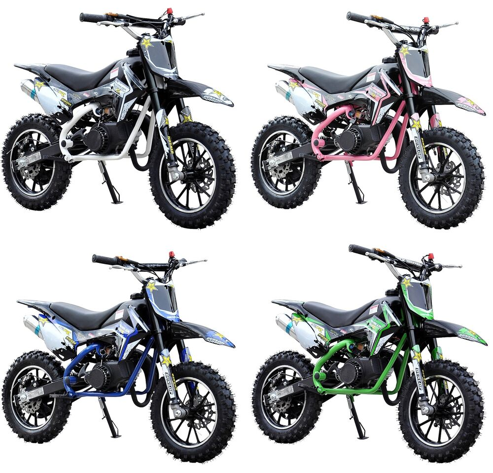 50r 49cc renegade petrol kids mini dirt bike moto cross. Black Bedroom Furniture Sets. Home Design Ideas