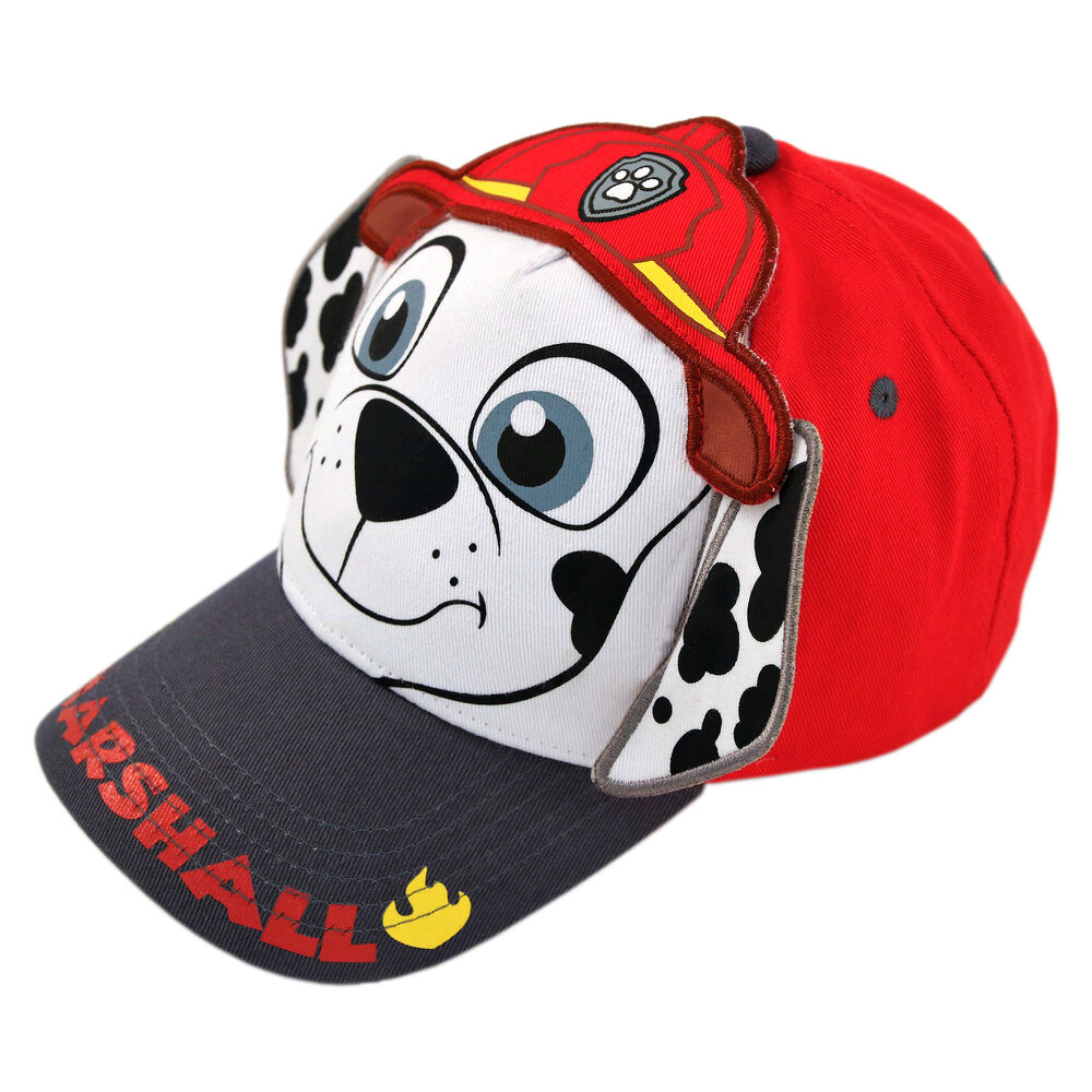 official photos e7252 bbaf3 Details about Nickelodeon Paw Patrol Marshall Cotton Baseball Cap, Toddler  Boys, Age 2-4