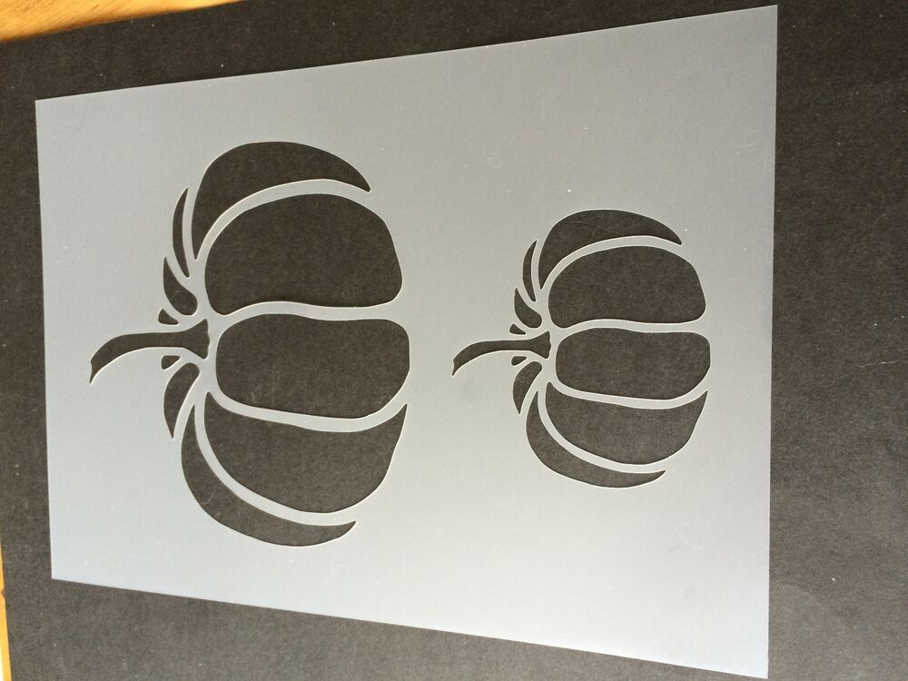 Airbrush Card making halloween Stencil Craft Stencil pumpkin stencil
