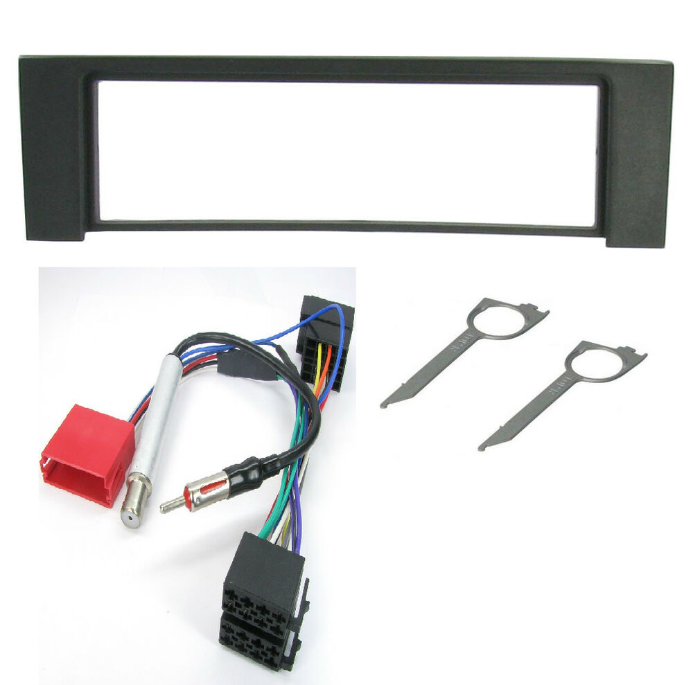 Audi A4 2000 Omward Radio Stereo Facia Fascia Surround Plate Panel Full Bose Car Cd Fitting Kit Wiring Harness Ebay Fp 05