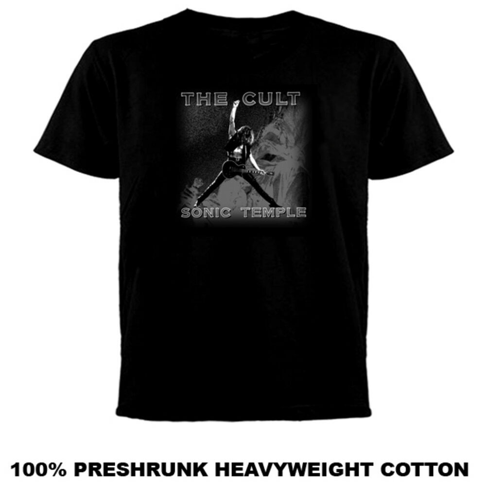 The Cult Sonic Temple T Shirt