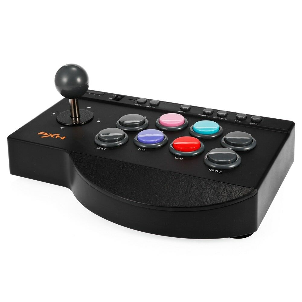 PXN-0082 USB Wired ABS Arcade Game Controller Joystick for PC/ PS3 ...