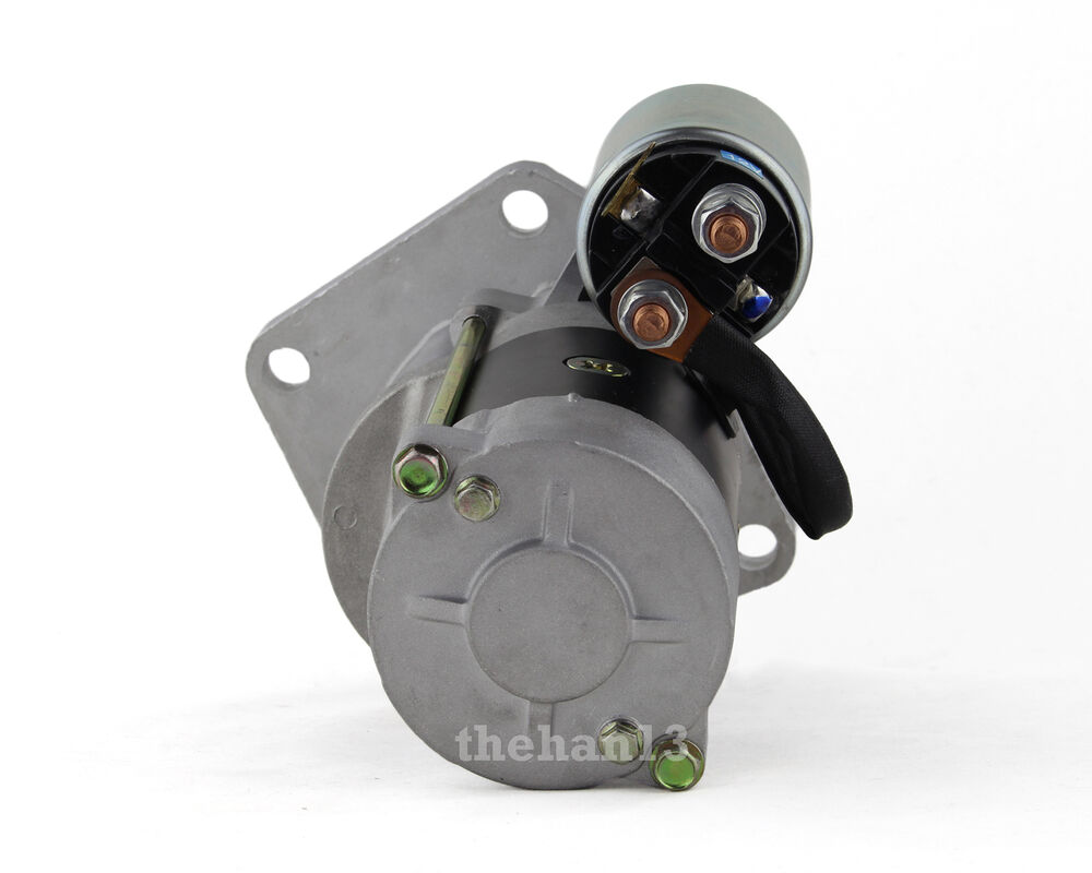 starter motor fits nissan patrol y60 td42 4 2l diesel ebay. Black Bedroom Furniture Sets. Home Design Ideas