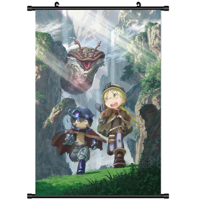 Hot Anime Made In Abyss Miabyss From Wall Poster Scroll