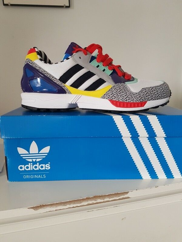 d2e7b35a9 Adidas ZX 9000 Memphis UK 8 selten 2014 Limited Edition 100% Authentic New  in Box