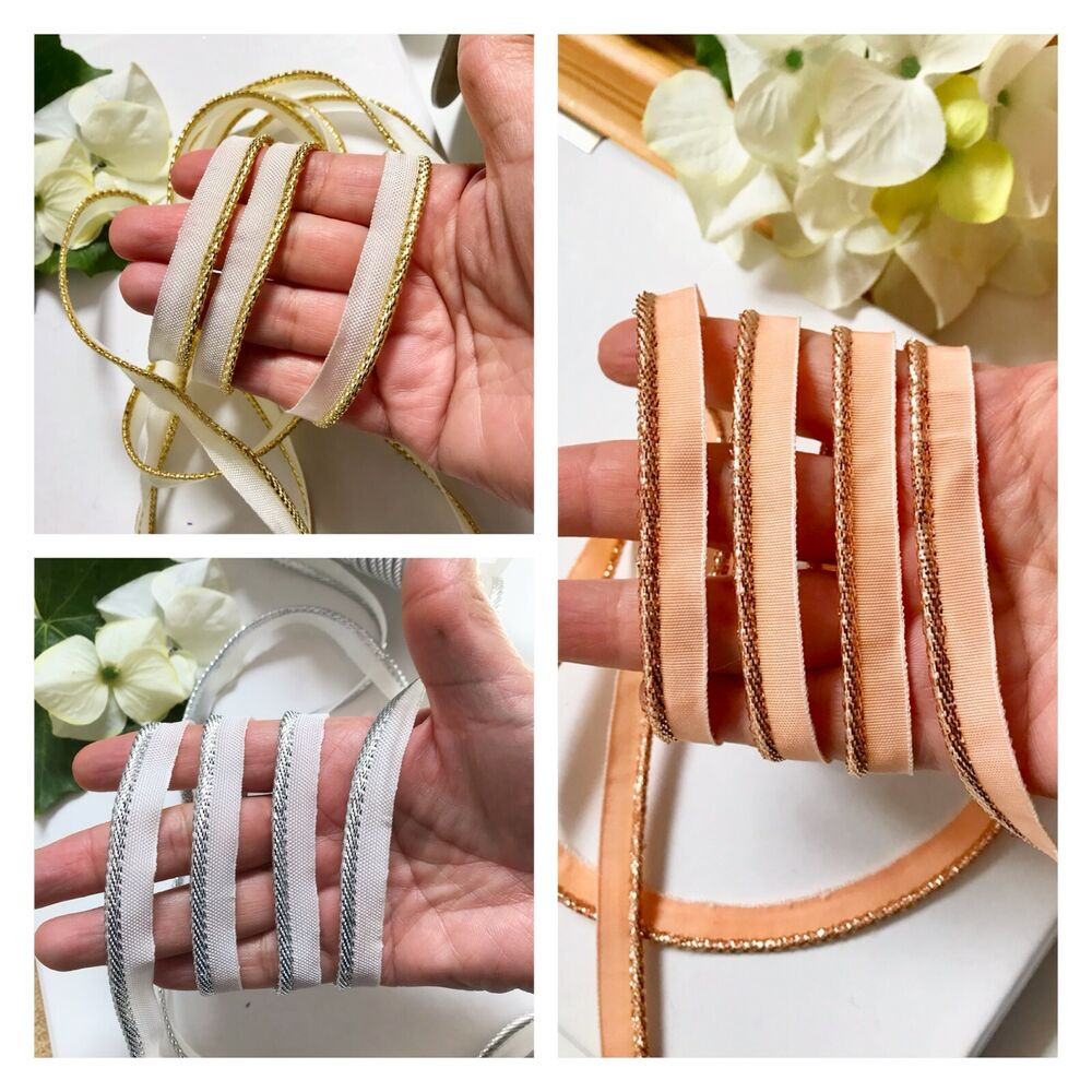 4 Meter Bias Piping Cord Binding Covered Insertion Tape
