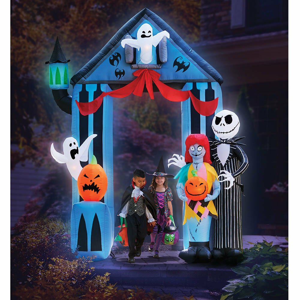 9 ft. Disney Nightmare Before Christmas Archway Portal Halloween ...