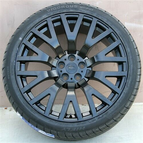 (4)Set 22x10 5x120 Wheels & Tires Pkg Range Rover HSE