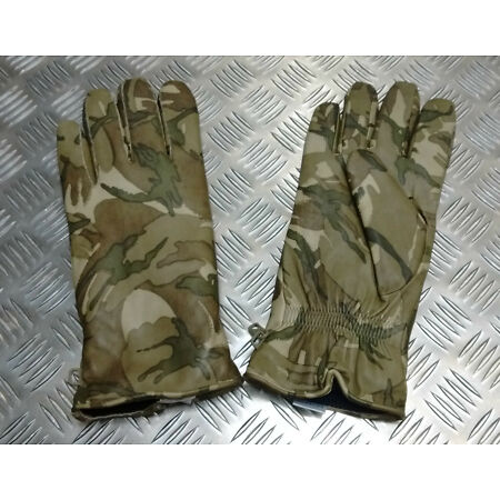 img-Genuine British Military MTP Camo Leather Combat Gloves MK2 MVP All Sizes - NEW