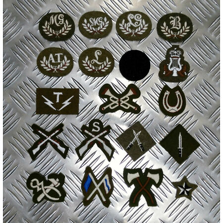 img-Genuine British Army Trade / Qualification Badges / Patches Assorted Styles